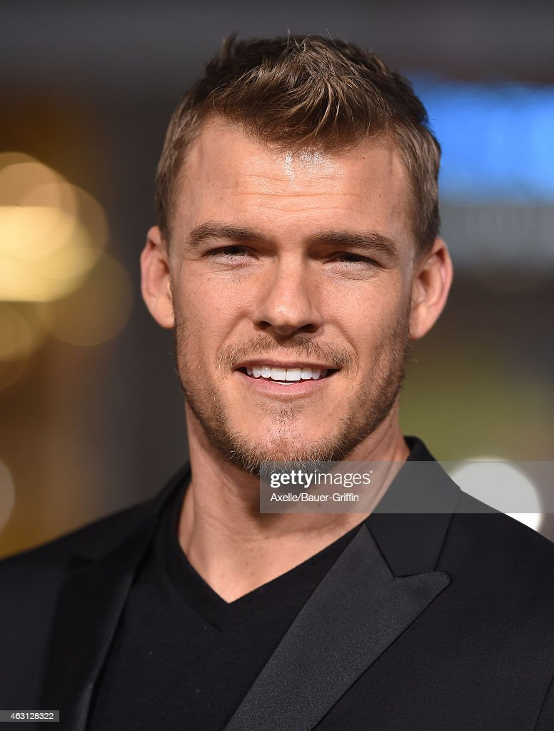 Actor Alan Ritchson arrives at the Los Angeles premiere of 'Project Almanac' at TCL Chinese Theatre on January 27 2015 in Hollywood California