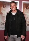 Actor Alan Ritchson arrives to the premiere screening of 'Steam' held at Laemmle's Sunset 5 on March 13 2009 in West Hollywood California