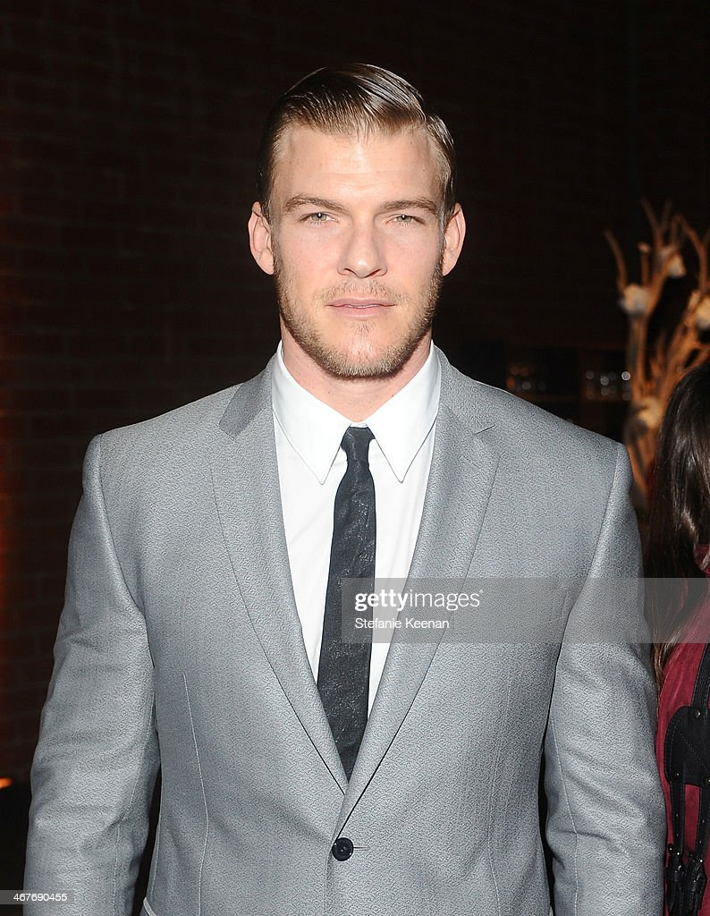 Actor Alan Ritchson attends Hollywood Stands Up To Cancer Event with contributors American Cancer Society and Bristol Myers Squibb hosted by Jim Toth...