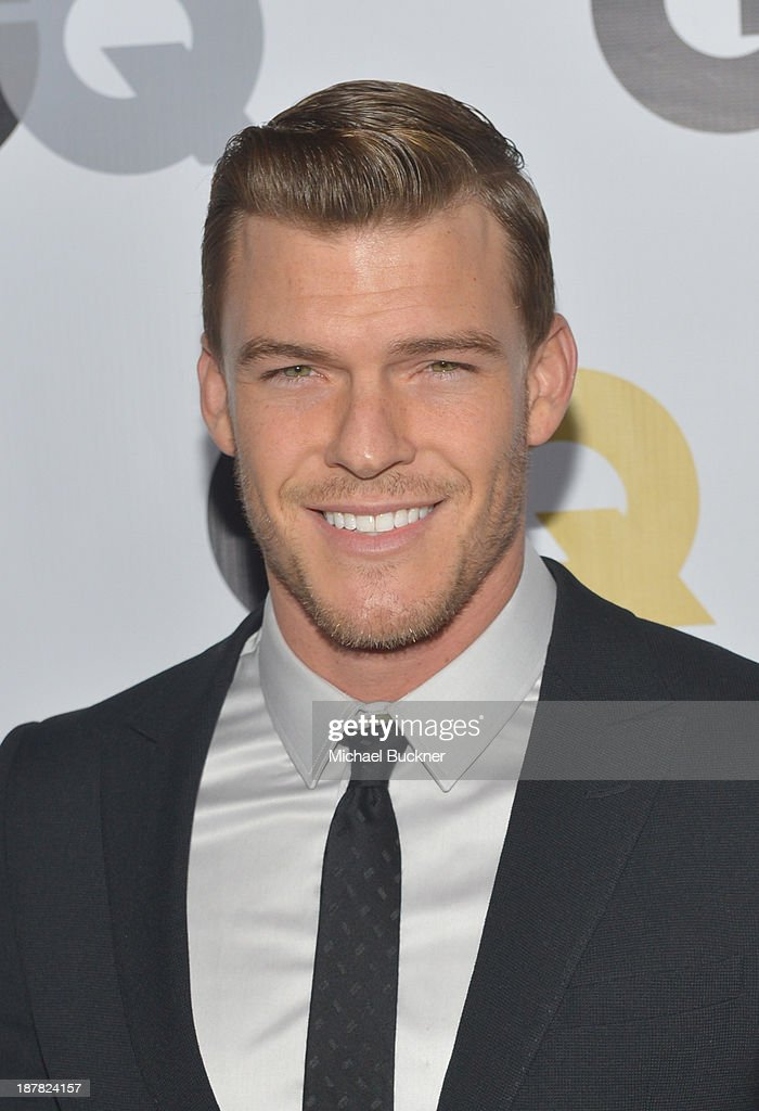 Actor Alan Ritchson attends the GQ Men Of The Year Party at The Ebell Club of Los Angeles on November 12, 2013 in Los Angeles, California.