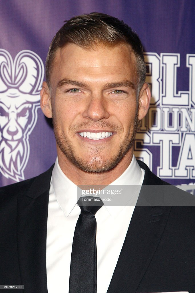 Actor Alan Ritchson attends the premiere of Lionsgate's 'Blue Mountain State The Rise Of Thadland' held at The Fonda Theatre on January 31 2016 in...