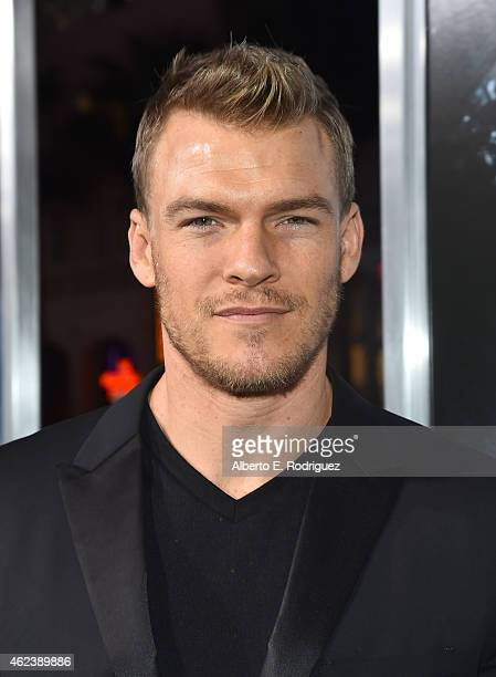 Actor Alan Ritchson attends the premiere of Paramount Pictures' 'Project Almanac' at TCL Chinese Theatre on January 27 2015 in Hollywood California