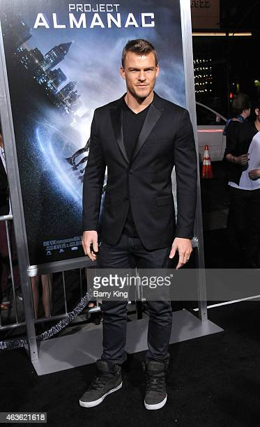 Actor Alan Ritchson attends the premiere of 'Project Almanac' at TCL Chinese Theatre on January 27 2015 in Hollywood California