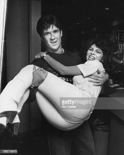 Actor Alan Thicke and actress Gina Gallego attending Third Annual American Diabetes Association Waiters Brunch on February 9 1985 at Baxter's...