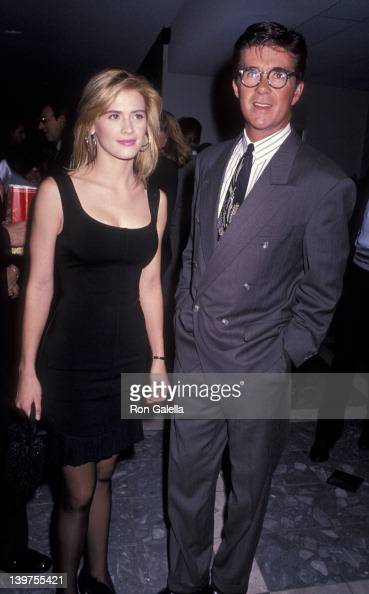 Actor Alan Thicke and actress Kristy Swanson attending the premiere of 'Dances With Wolves' on November 4 1990 at the Cineplex Odeon Cinema in...