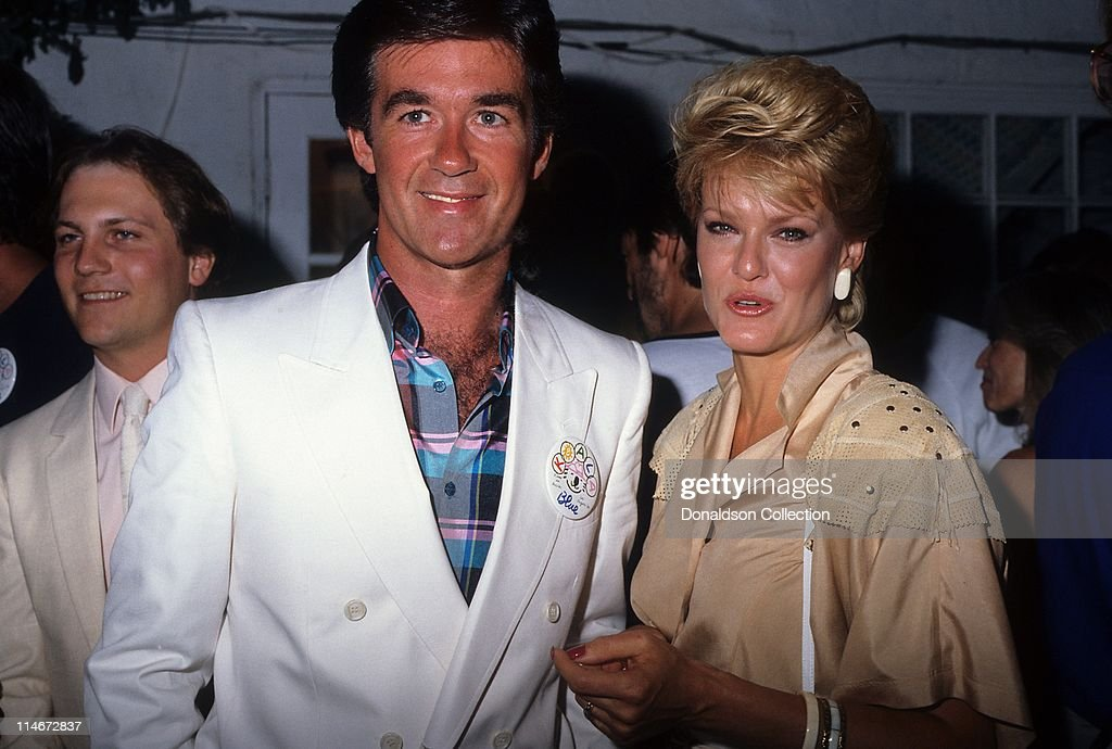 Actor Alan Thicke and his wife Gloria Loring attend the opening of singer Olivia NewtonJohn's new boutique Koala Blue in the Westside Pavilion Mall...