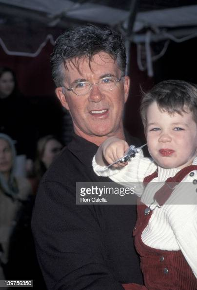 Actor Alan Thicke and son Carter Thicke attending the world premiere of 'Emperor's New Groove' on December 10 2000 at El Capitan Theater in Hollywood...