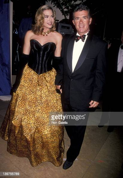 Actor Alan Thicke and wife Gina Tolleson attending 'Carousel of Hope Ball Benefit' on October 28 1994 at the Beverly Hilton Hotel in Beverly Hills...