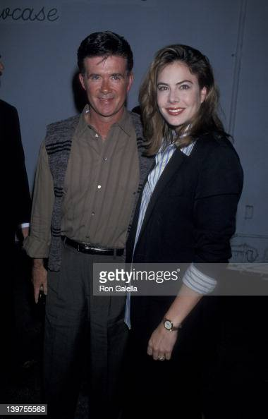 Actor Alan Thicke and wife Gina Tolleson attending the screening of 'A Comedy Salute to Andy Kaufman' on March 20 1995 at the Improvisation in Los...