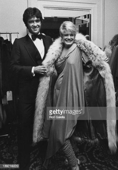 Actor Alan Thicke and wife Gloria Loring attending 10th Annual Promise Ball on November 11 1982 at the Pierre Hotel in New York City New York