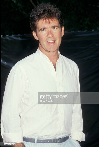Actor Alan Thicke attending 11th Annual Alpo's Actors and Others for Animals Celebrity Fair on August 30 1987 at the Burbank Studios Ranch in Burbank...
