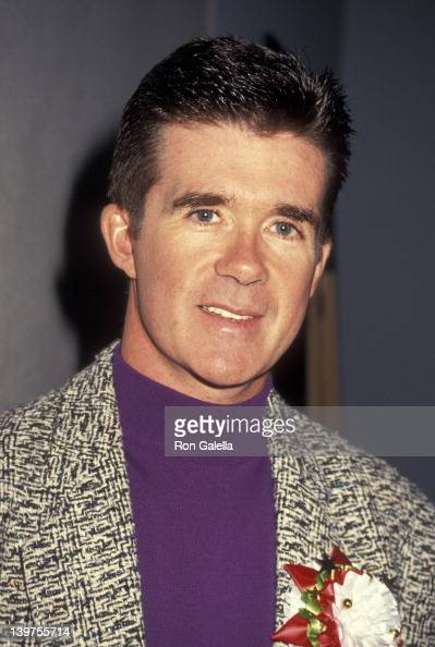Actor Alan Thicke attending 59th Annual Hollywood Christmas Parade on November 25 1990 in Hollywood California