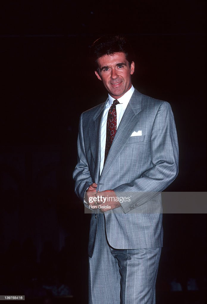 Actor Alan Thicke attending 'Amanda Foundation Celebrity Fashion Show' on September 10 1986 at the Beverly Hilton Hotel in Beverly Hills California