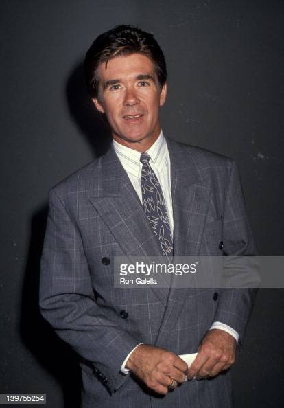 Actor Alan Thicke attending 'Grand Opening of Alzado's Restaurant' on February 26 1990 in Los Angeles California