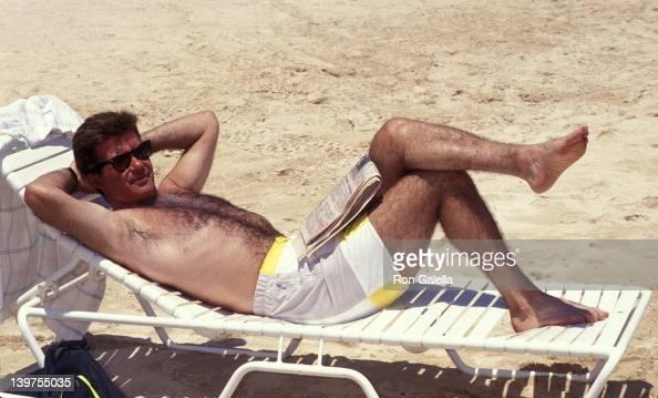 Actor Alan Thicke attending 'Mauna Lani Celebrity Sports Invitational' on May 16 1991 in Mauna Lani Hawaii