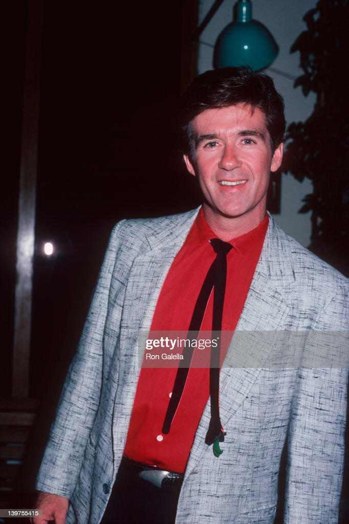 Actor Alan Thicke attending 'Party for Princess Grace Foundation Awards' on November 1 1985 at the Hard Rock Cafe in Los Angeles California