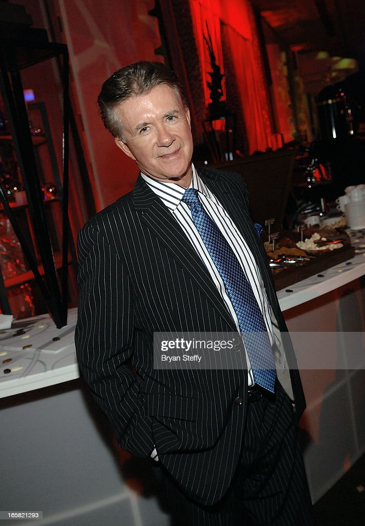 Actor <a gi-track='captionPersonalityLinkClicked' href=/galleries/search?phrase=Alan+Thicke&family=editorial&specificpeople=240157 ng-click='$event.stopPropagation()'>Alan Thicke</a> attends the 12th Annual Michael Jordan Celebrity Invitational Gala At ARIA Resort & Casino on April 5, 2013 in Las Vegas, Nevada.