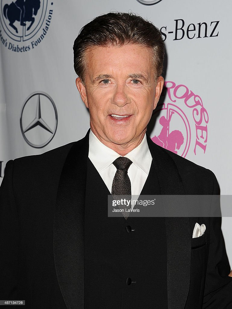 Actor Alan Thicke attends the 2014 Carousel of Hope Ball at The Beverly Hilton Hotel on October 11 2014 in Beverly Hills California