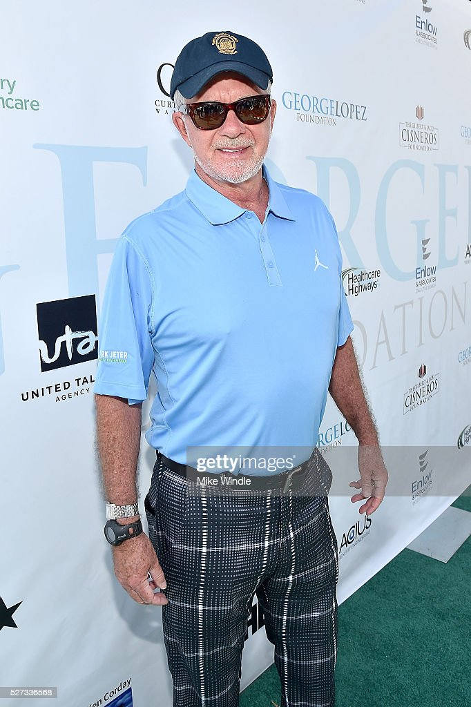 Actor Alan Thicke attends the 9th Annual George Lopez Celebrity Golf Classic to benefit The George Lopez Foundation at Lakeside Golf Club on May 2, 2016 in Burbank, California.