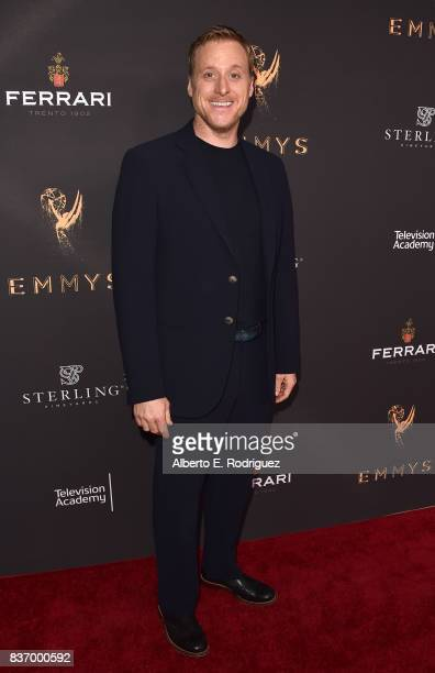 Actor Alan Tudyk attends the Television Academy's Performers Peer Group Celebration at The Montage Beverly Hills on August 21 2017 in Beverly Hills...