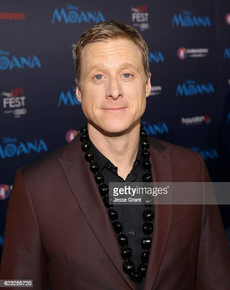 Actor Alan Tudyk attends The World Premiere of Disney's 'MOANA' at the El Capitan Theatre on Monday November 14 2016 in Hollywood CA