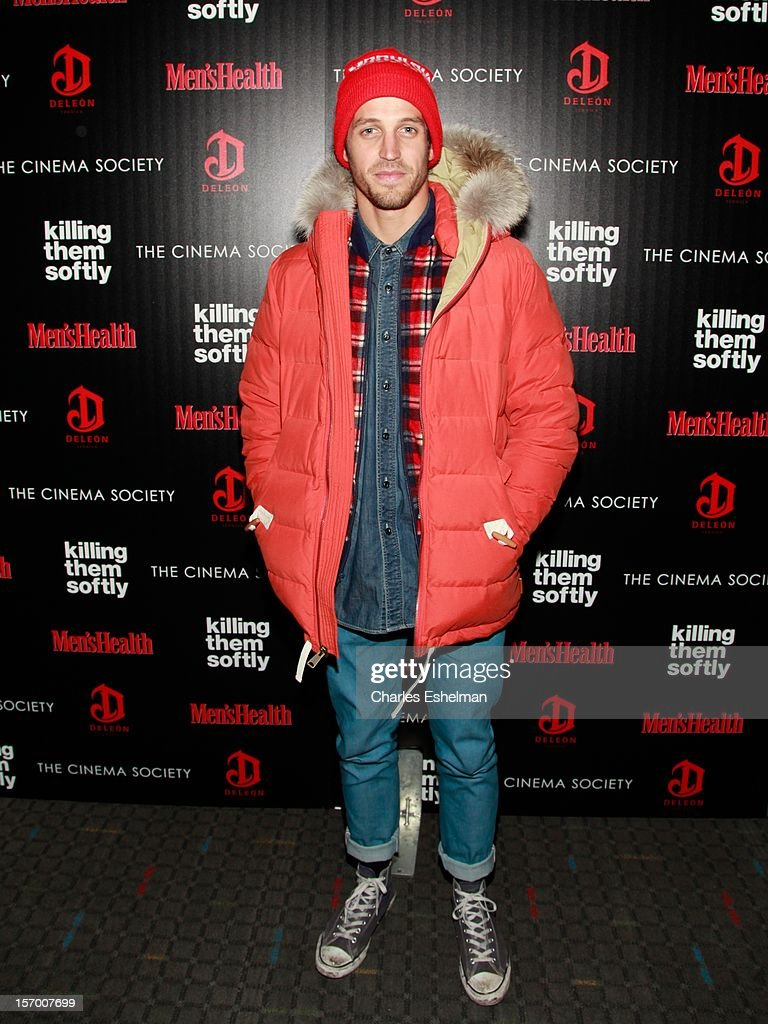 Actor Albert Reed attends a screening of The Weinstein Company's 'Killing Them Softly' hosted by The Cinema Society with Men's Health and DeLeon at SVA Theatre on November 26, 2012 in New York City.