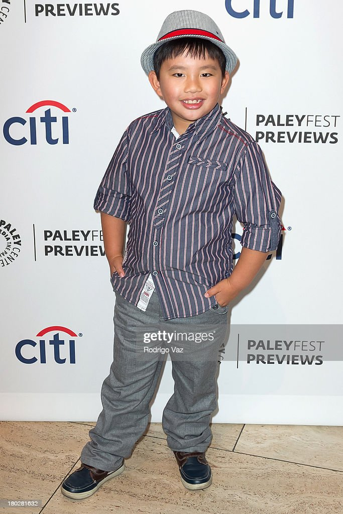 Actor Albert Tsai arrives at PaleyFestPreviews Fall TV ABC's 'Trophy Wife' And 'Back In The Game' at The Paley Center for Media on September 10, 2013 in Beverly Hills, California.