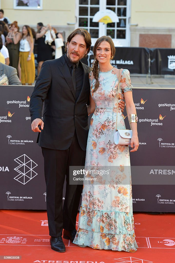 Actor <a gi-track='captionPersonalityLinkClicked' href=/galleries/search?phrase=Alberto+Ammann&family=editorial&specificpeople=6233402 ng-click='$event.stopPropagation()'>Alberto Ammann</a> attends 'Nuestros Amantes' premiere at the Cervantes Teather during the 19th Malaga Film Festival on April 30, 2016 in Malaga, Spain.