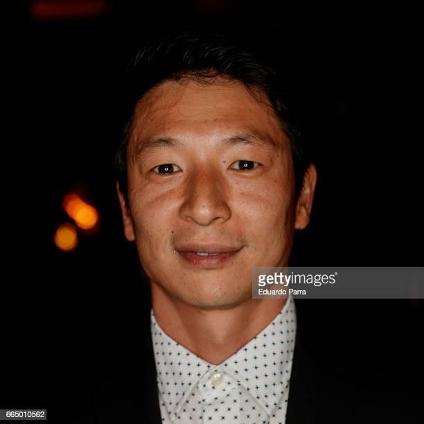 Actor Alberto Jo Lee attends the 'El Pelotari y la Fallera' premiere at Callao cinema on April 5 2017 in Madrid Spain