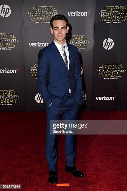 Actor Alberto Rosende arrives at the premiere of Walt Disney Pictures' and Lucasfilm's 'Star Wars The Force Awakens' at the Dolby Theatre TCL Chinese...