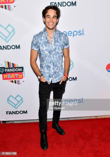 Actor Alberto Rosende at FANDOM's Annual ComicCon KickOff Party at Float at Hard Rock Hotel San Diego on July 20 2017 in San Diego California