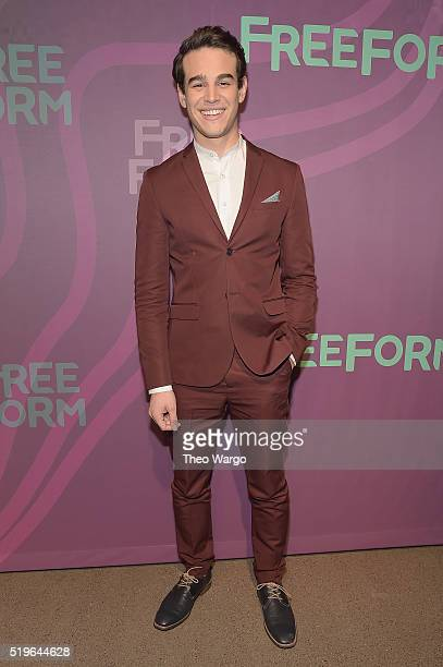 Actor Alberto Rosende attends 2016 ABC Freeform Upfront at Spring Studios on April 7 2016 in New York City