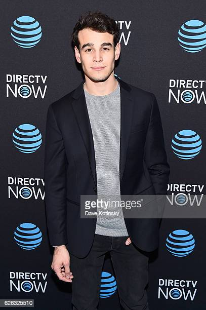 Actor Alberto Rosende attends ATT's celebration of the Launch of DIRECTV NOW at Venue 57 on November 28 2016 in New York City