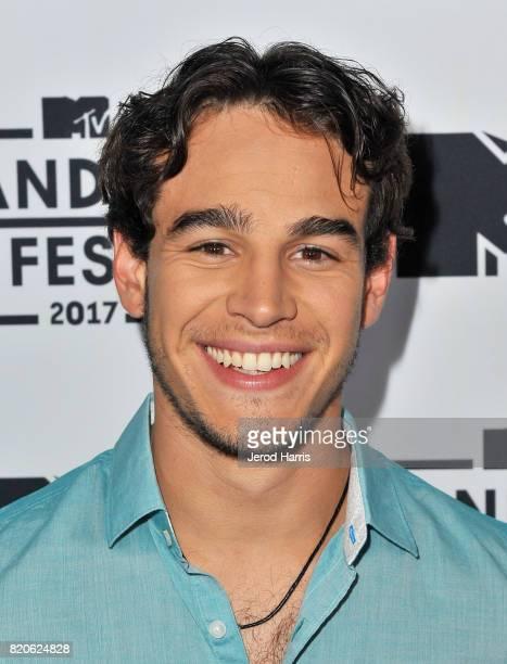 Actor Alberto Rosende attends MTV Fandom Fest at PETCO Park on July 21 2017 in San Diego California