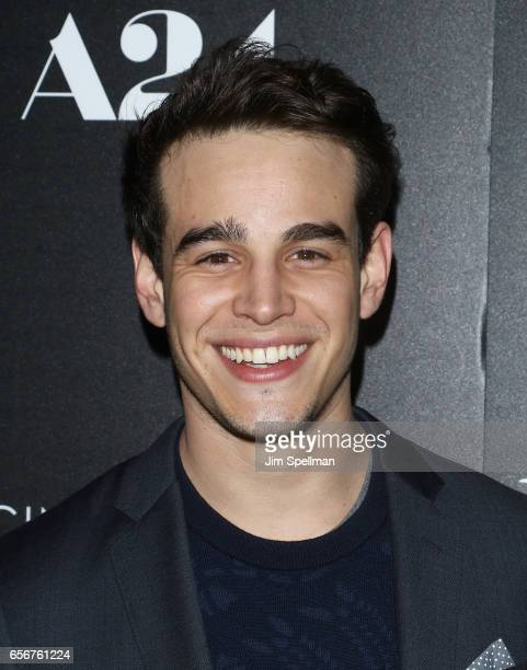 Actor Alberto Rosende attends 'The Blackcoat's Daughter' screening hosted by A24 and DirecTV with The Cinema Society at Landmark's Sunshine Cinema on...