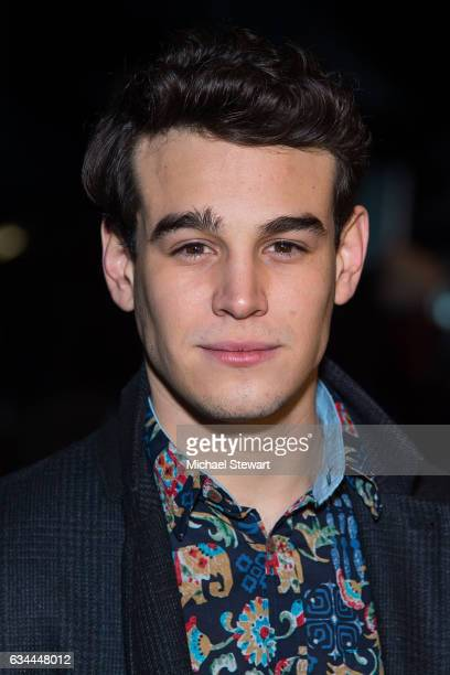 Actor Alberto Rosende attends the Desigual show during February 2017 New York Fashion Week The Shows at Gallery 1 Skylight Clarkson Sq on February 9...