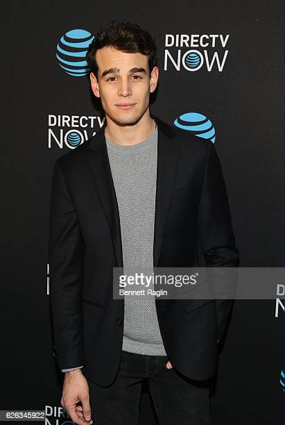 Actor Alberto Rosende attends the DirectTV Now launch at Venue 57 on November 28 2016 in New York City