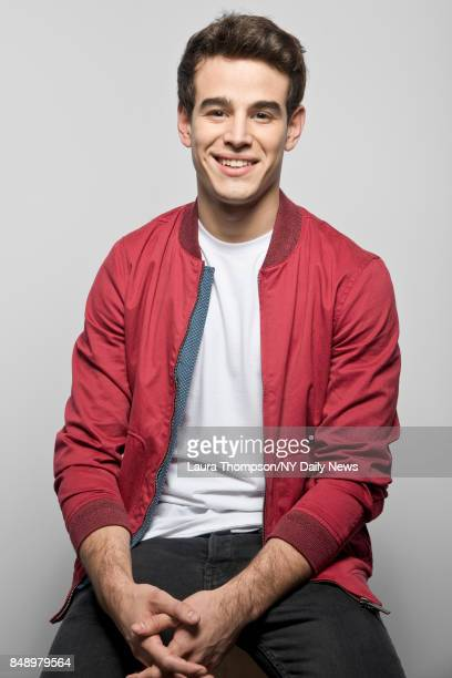 Actor Alberto Rosende is photographed for NY Daily News on October 8 2016 at Comic Con in New York City CREDIT MUST READ Laura Thompson/New York...