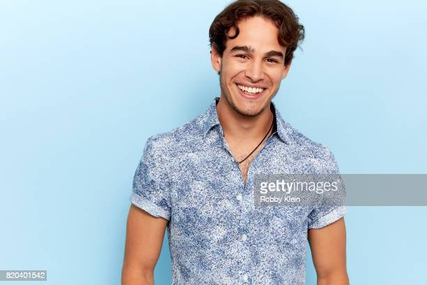 Actor Alberto Rosende of Freeform's 'Shadowhunters' poses for a portrait during ComicCon 2017 at Hard Rock Hotel San Diego on July 20 2017 in San...