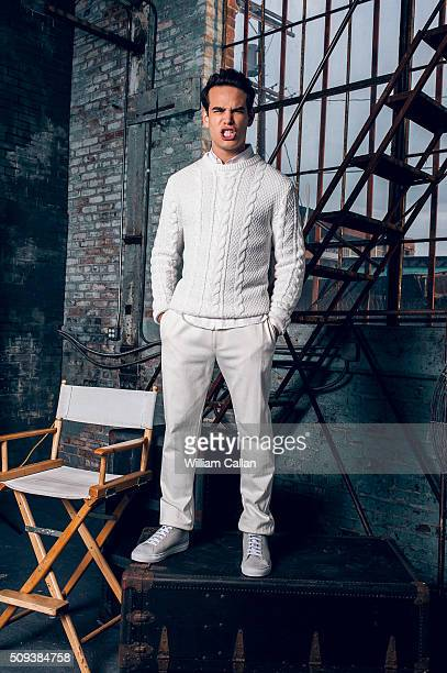 Actor Alberto Rosende of 'Shadow Hunters' is photographed for Bello on January 11 2016 in Los Angeles California