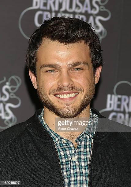 Actor Alden Ehrenreich attends the 'Beautiful Creatures' Mexico City photocall at St Regis Hotel on February 18 2013 in Mexico City Mexico