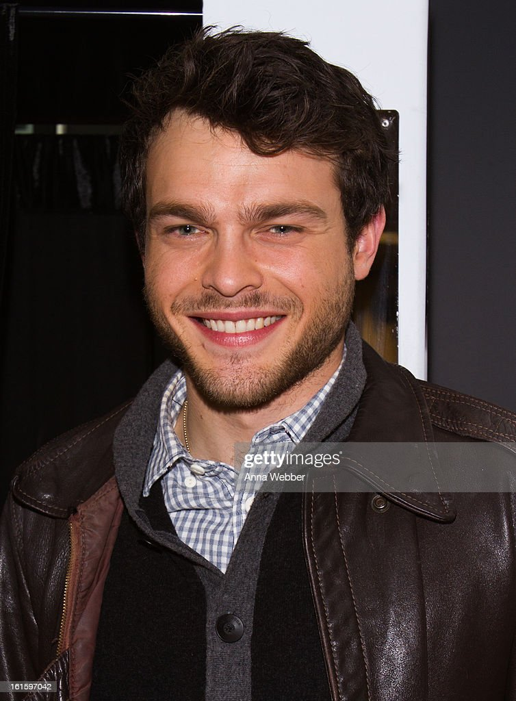 Actor <a gi-track='captionPersonalityLinkClicked' href=/galleries/search?phrase=Alden+Ehrenreich&family=editorial&specificpeople=4069445 ng-click='$event.stopPropagation()'>Alden Ehrenreich</a> visits SiriusXM Studios on February 12, 2013 in New York City.