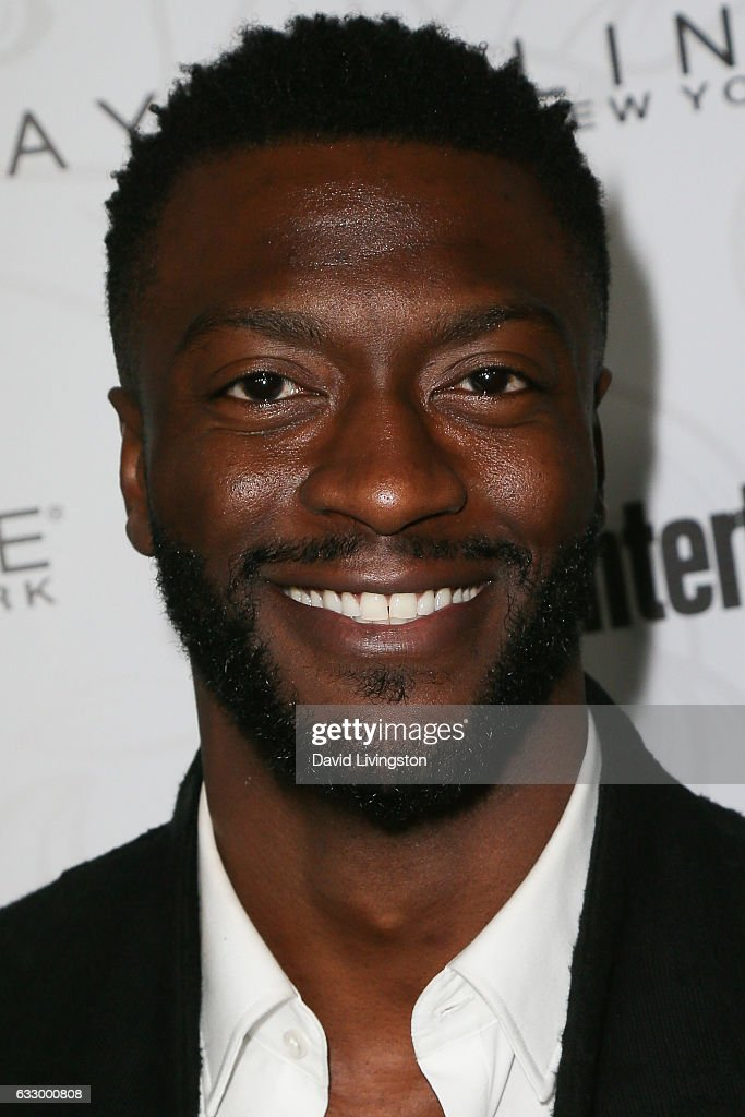 Actor Aldis Hodge arrives at the Entertainment Weekly celebration honoring nominees for The Screen Actors Guild Awards at the Chateau Marmont on January 28, 2017 in Los Angeles, California.