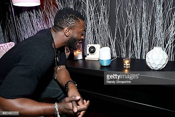 Actor Aldis Hodge attends Google Home x Sundance x Wanderluxxe celebrate diversity at the home of Barry Amy Baker on January 22 2017 in Park City Utah