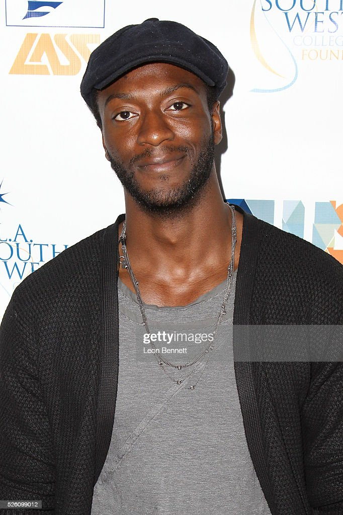 Actor <a gi-track='captionPersonalityLinkClicked' href=/galleries/search?phrase=Aldis+Hodge&family=editorial&specificpeople=2164244 ng-click='$event.stopPropagation()'>Aldis Hodge</a> attends Hollywood Insiders Talk Diversity In Entertainment at L.A. Southwest College Foundation on April 29, 2016 in Los Angeles, California.