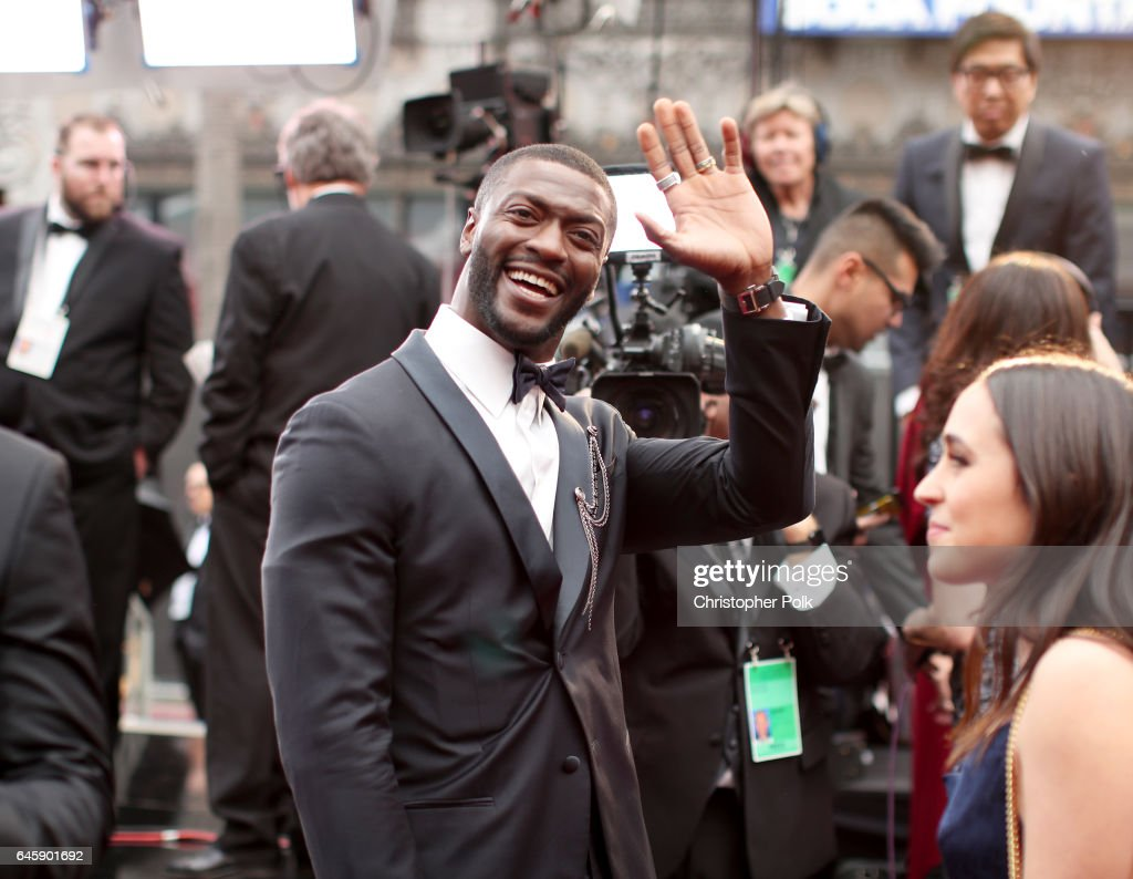 Actor Aldis Hodge attends the 89th Annual Academy Awards at Hollywood & Highland Center on February 26, 2017 in Hollywood, California.