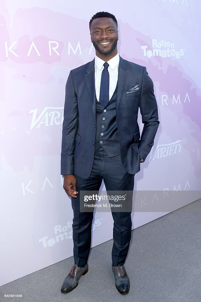 Actor Aldis Hodge attends Variety's Celebratory Brunch Event For Awards Nominees, benefitting Motion Picture Television Fund, at Cecconi's on January 28, 2017 in West Hollywood, California.