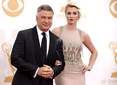 Actor Alec Baldwin and daughter model Ireland Baldwin arrive at the 65th Annual Primetime Emmy Awards held at Nokia Theatre LA Live on September 22...