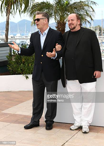 Actor Alec Baldwin and director James Toback attend the 'Seduced And Abandoned' Photocall during The 66th Annual Cannes Film Festival at the Palais...