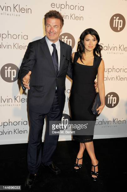 Actor Alec Baldwin and Hilaria Thomas attend as The IFP Calvin Klein Collection euphoria Calvin Klein celebrate Women In Film during the 65th Cannes...